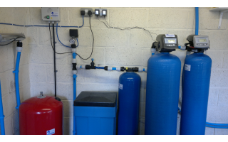 Iron and manganese filter system